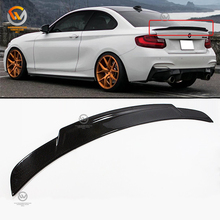 2 Series F22 Genuine Carbon Fiber Boot Lid Trunk Spoiler C74 style 13-17