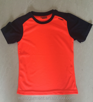 2017 Dry fit quick dry running t shirt, sport t shirt