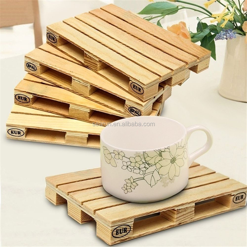 mini wood pallet wholesale pallet coaster
