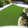 Easy to clean decorative 40mm outdoor evergreen turf for home garden