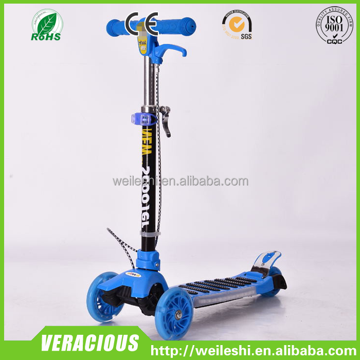 2015 wholesale high quality kids scooter, 3 wheel scooter cheap kick scooter