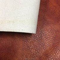 PU embossed sofa material with real leather emboss ,also use for sofa cover ,furniture