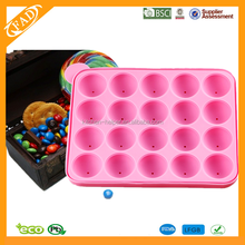 2015 new design silicone cake ice jelly chocolate molds silicone