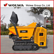 Wolwa articulated mini crawler dumper GN05, construction machinery