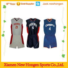 Custom dazzling basketball jersey/basketball uniform/basketball wear