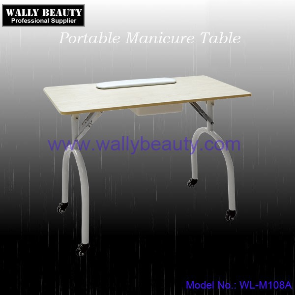 Folding manicure table portable type
