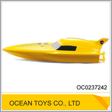 2.4G remote control boat plastic toy small ship OC0237242