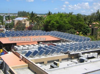 Suntask hotel solar hot water project