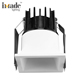 240v cob 2700k dimmable 6w led downlight square