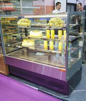 New style cake display chiller fridge for bakery equipment
