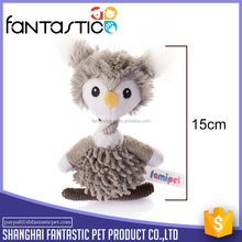 Cute animal Exciting dog owl toy with 420D nylon