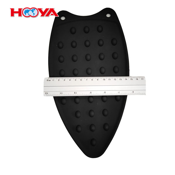 115g black color heat resistance silicone iron pad