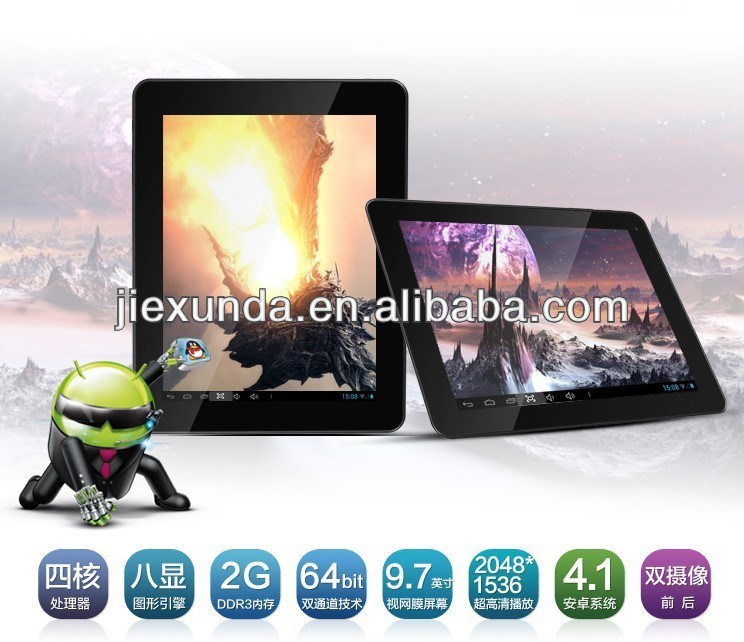 Colorfly CT972 Q.Cosy Tablet PC Android 4.1 Allwinner A31 Quad Core 9.7 inch Screen 2048*1536 32GB ROM 2GB RAM