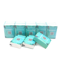 Wholesale Novelty 4 Ply Mini Pack Travel Size Pocket Facial Tissue Paper with Logo Printed