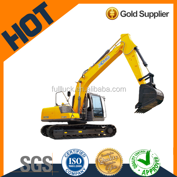 XCMG 13T crawler price of hydraulic excavator hot sale XE135B