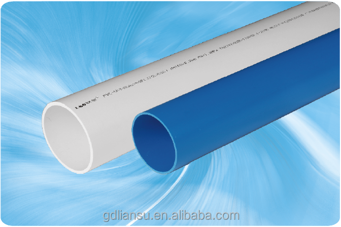 UPVC water supply piping/pvc pipe for drinking water/water well pvc pipe