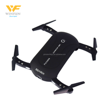 RC toys 2.4G WIFI FPV Folding Drone Pocket Mini Selfie Drone with HD Camera Phone Control Altitude hold VS