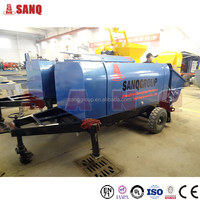 Factory Price Electric Diesel Joints Eaton Mobile Concrete Pump truck For Sale