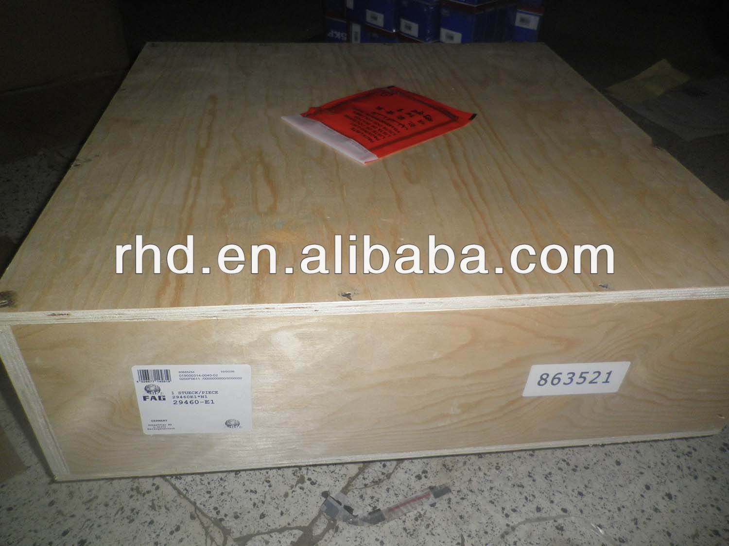NSK 29460 29460E 29460M thrust spherical roller bearing
