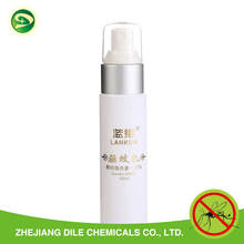 20% icaridin mosquito repellent body lotion spray factory supply