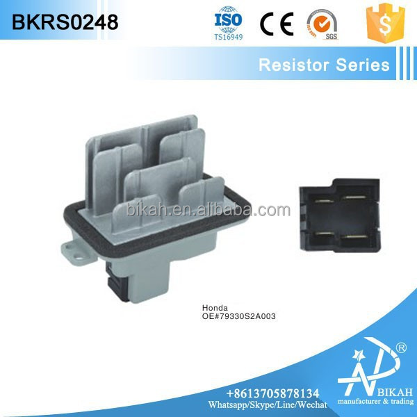 AC Heater Blower Motor Resistor FOR 04-09 Honda S2000 2.2L-L4 79330S2A003, 79330 S2A 003, 79330-S2A-003