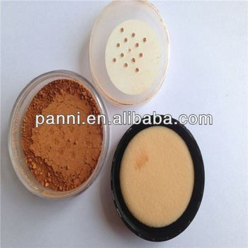 Popular face makeup loose powder,mineral foundation for hot sale