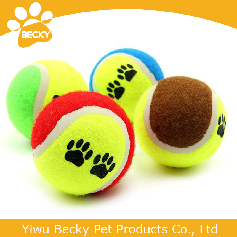 pet toys dog toys tennis ball outdoor training dog tennis ball