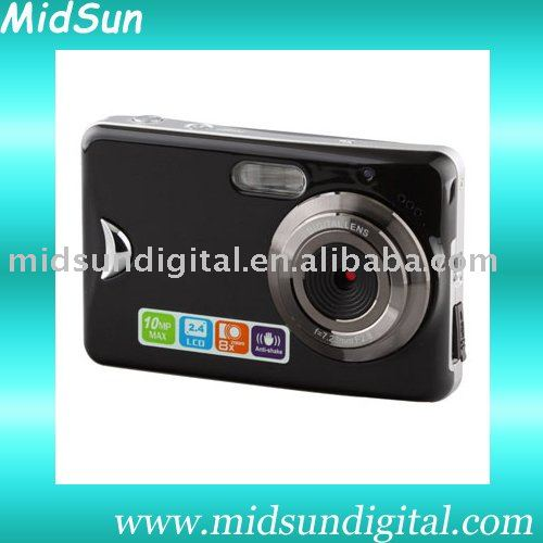 "5.0 Mega Pixels 2.4"" TFT Display Pink Color Digital Camera"