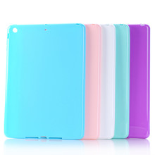 Smooth jelly case/half soft rubber protection shell