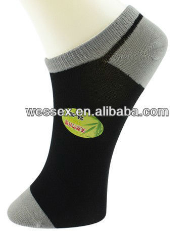 2014 custom design bamboo ankle socks