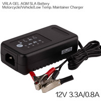 Everpower smart automatic motorcycle battery trickle charger 12V 0.8A 3.3A