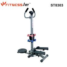 Body Building Multi Stepper With Twister And Dumbbells for Leg Exercise