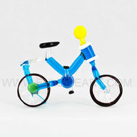 Buy millefiori glass tricycle Italian gift articles figurine