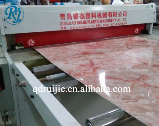 pvc artificial marble sheet machine