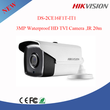 3 Megapixel high-performance CMOS cctv camera Hikvision DS-2CE16F1T-IT1 HD Analog camera