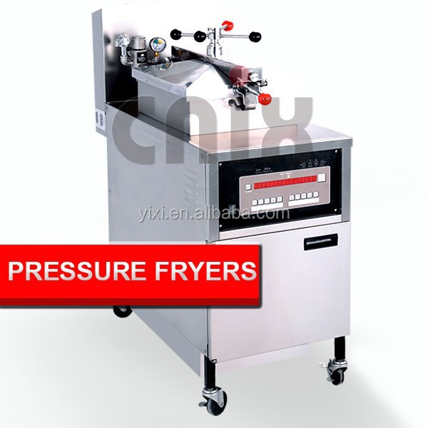 Computer Panel Commercial Electric Pressure Cooker Fryer