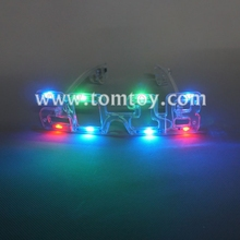 Tomtoy New Year of 2018 Flashing LED Sunglasses
