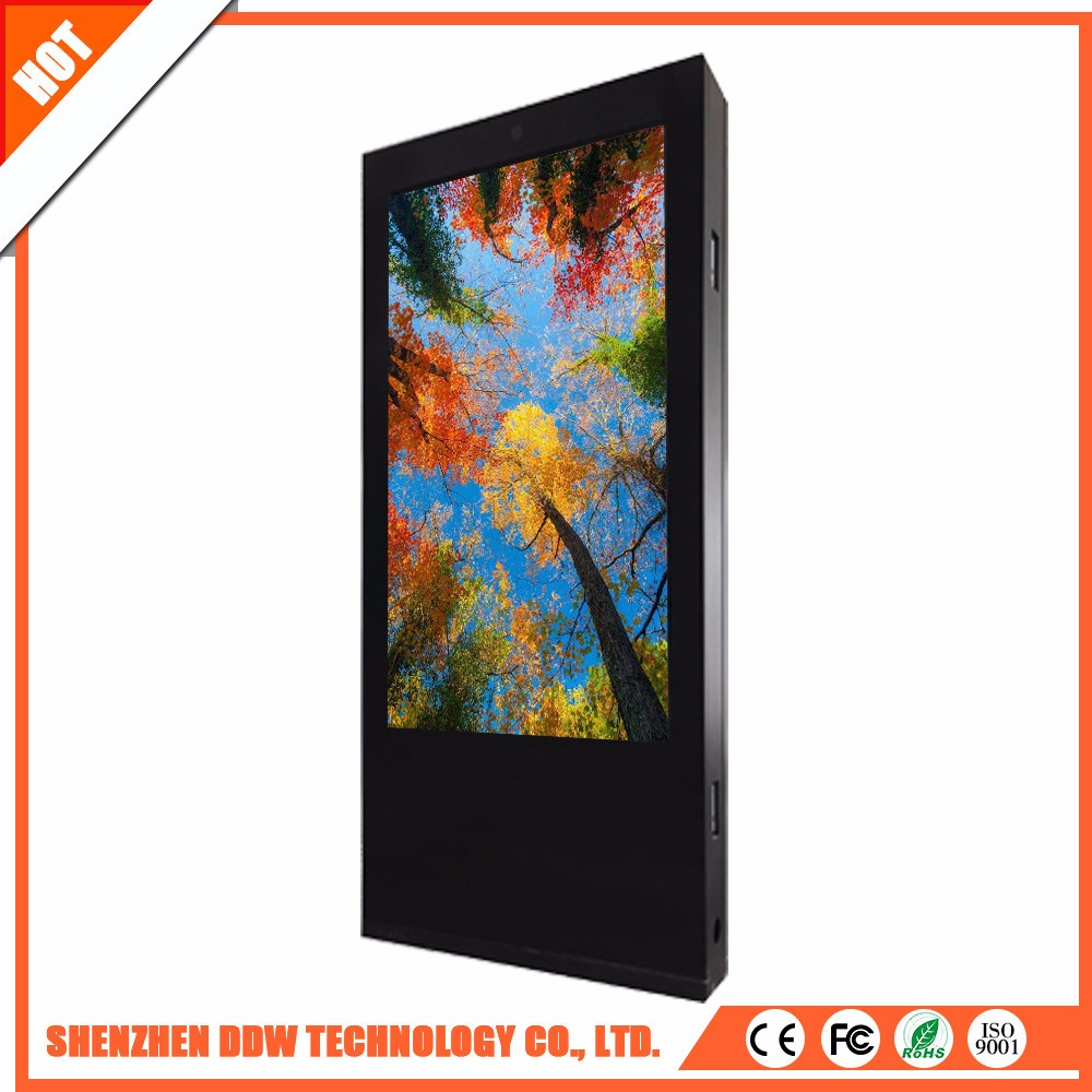 Wholesale china goods FCC bank ad.weather double android digital signage players