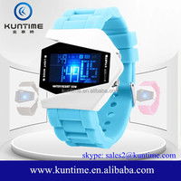 Watch brands chinese digital watch with alarm clock