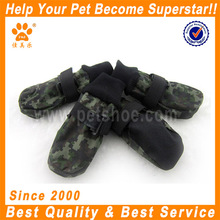 JML dog accessories outdoor waterproof nylon army winter boots for large dog