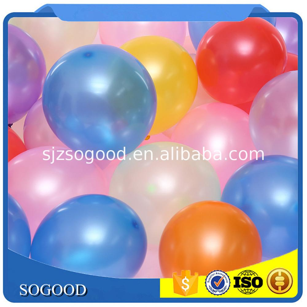Good price store balloons latex pearl for wholesales
