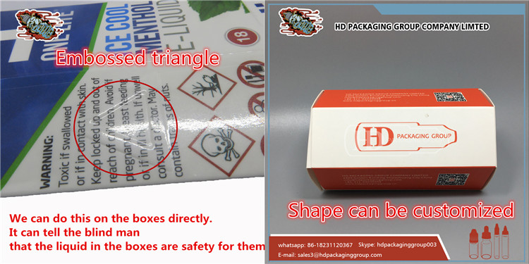 HD packaging paper box custom cardboard box