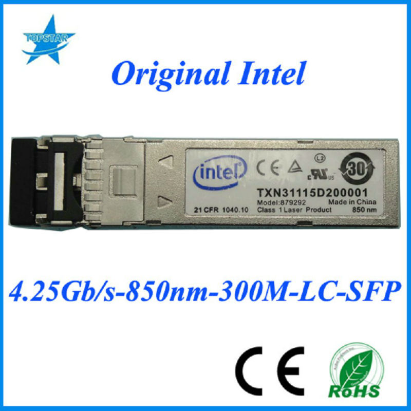 Original Intel TXN31115D200001 1.25Gbps 850nm 300m Intel fiber optic module fiber optic pictures
