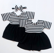Royal Class High Quality Stripes Uniform Baby Girls Cotton Frock Designs China Suppliers
