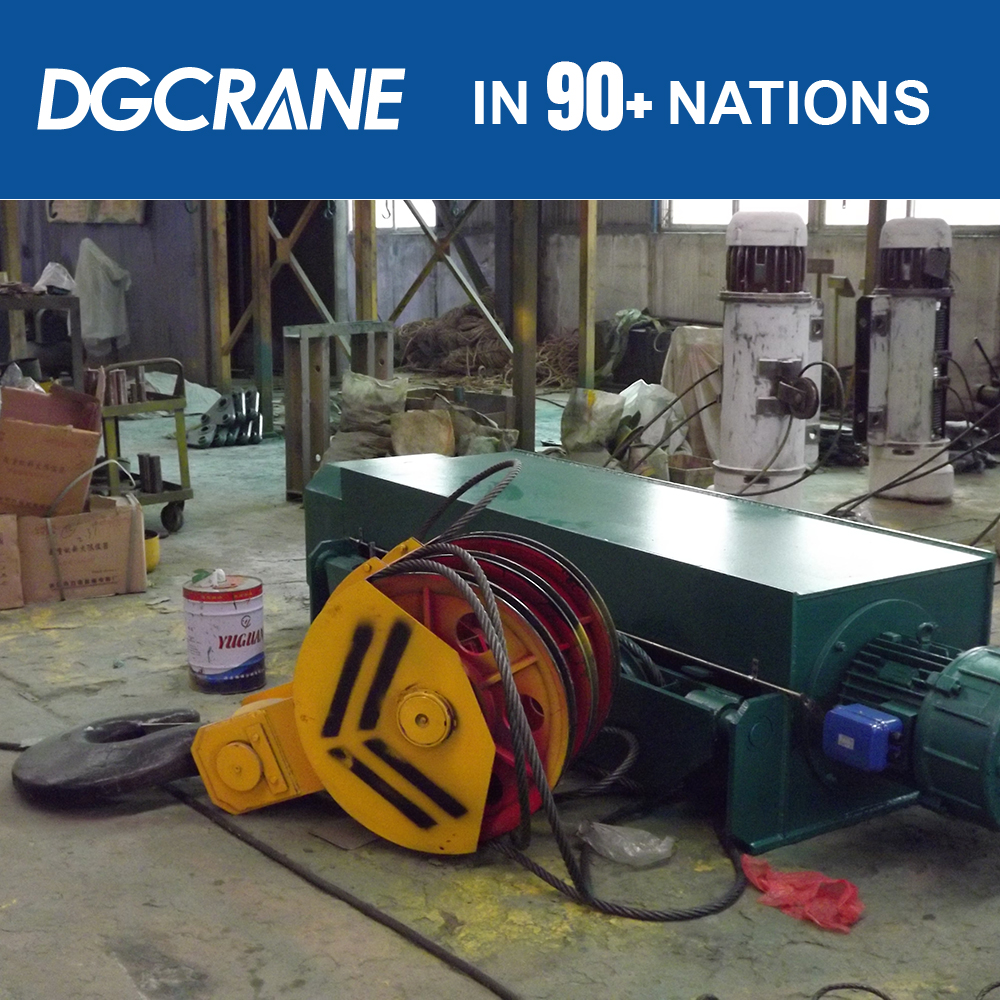 Overhead crane wire rope roof hoist systems