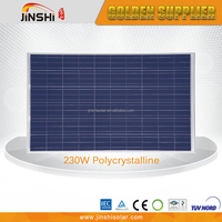 high efficiency BIPV modules230w 30v 60pcs polycrystalline solar cell panel