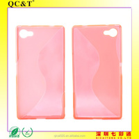 Promotional Items 2015 Flexible Soft phone case S Line 6 TPU Cover for SONY Xperia Z5 Compact/Z5 MINI/E5803/E5823