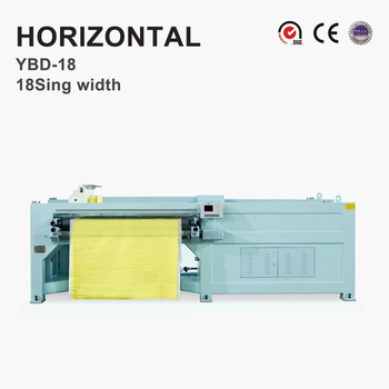 YBD18 Automatic Horizontal Quilting Embroidery Machine(single width)