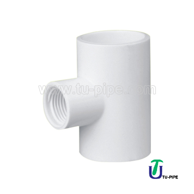 UPVC Reducing female tees ASTM D2466