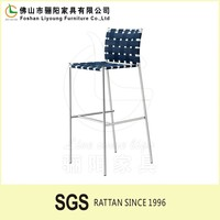 Popular Hot-sale Modern Rattan Bar Chair,Outdoor Patio Rattan Bar Furniture High Coffe Chair,Outdoor Rattan Leisurely Chair